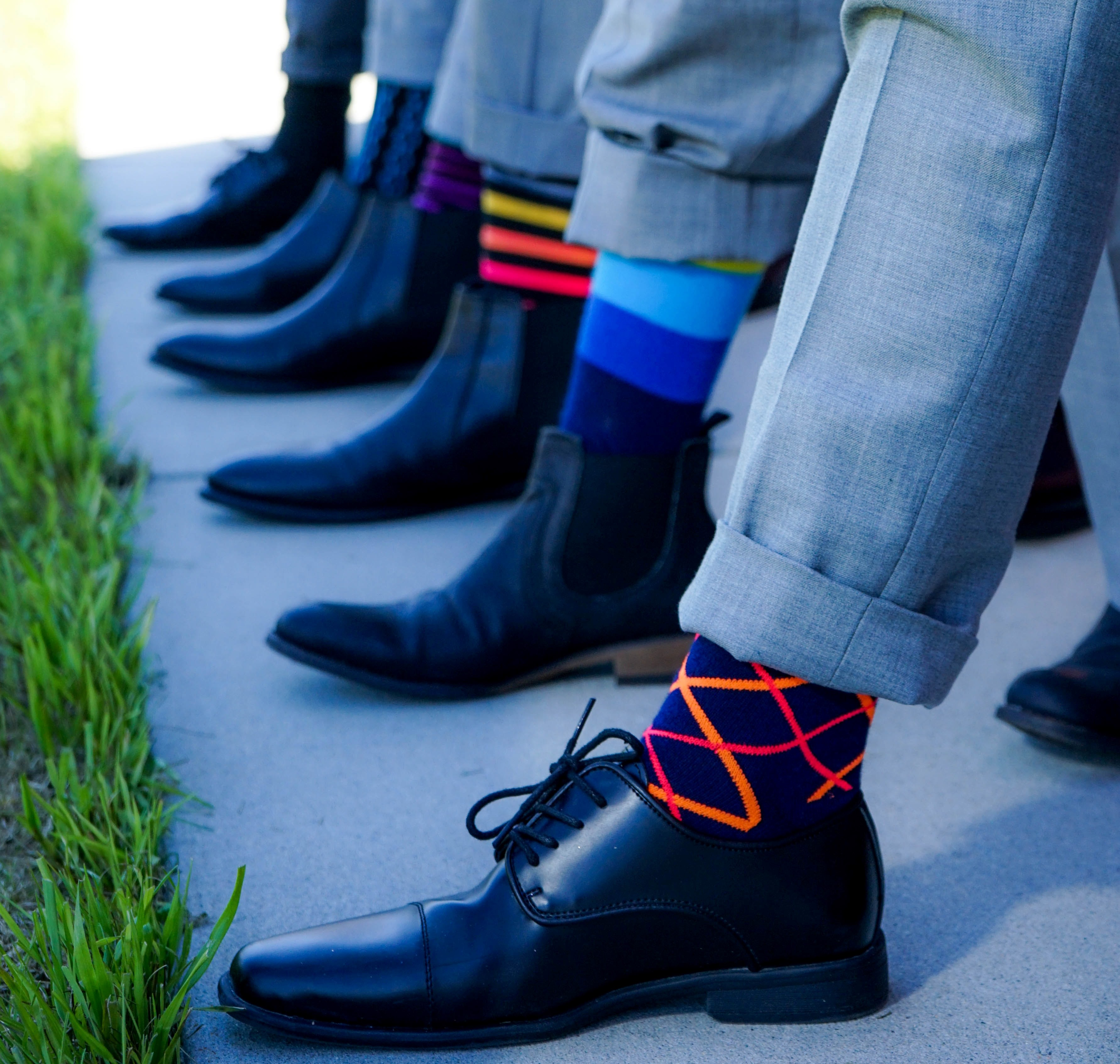 The World of Technicolour Socks
