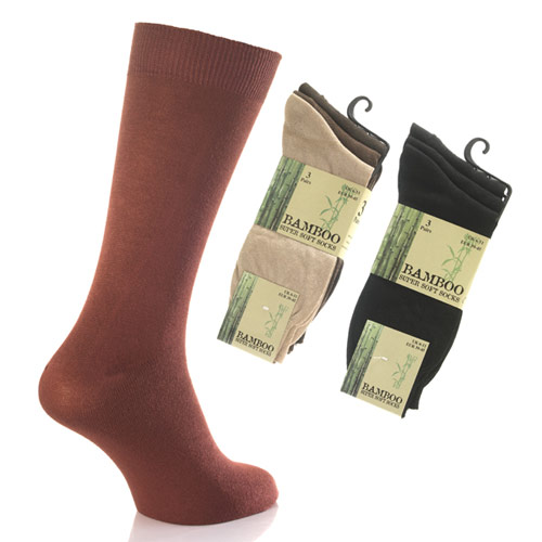 Mens Bamboo Socks